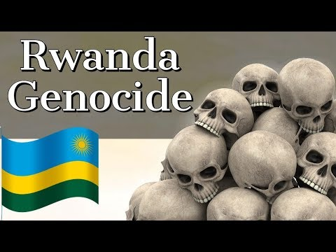 Rwanda Genocide - When Hutus killed 1 Million Tutsis in Rwan