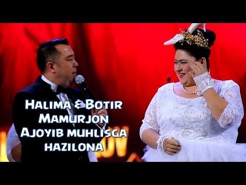 Halima & Botir & Mamurjon - Ajoyib muhlisga hazilona sahna ko'rinishi (SHUKUR SHOU)