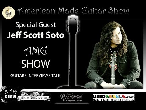US American Made Guitars Show Interview: Jeff Scott Soto