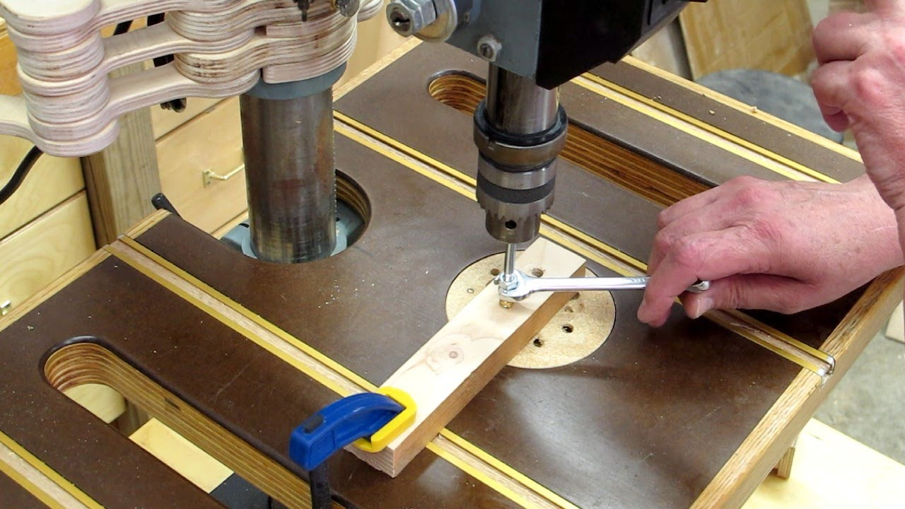Installing Metal Threaded Inserts For Wood