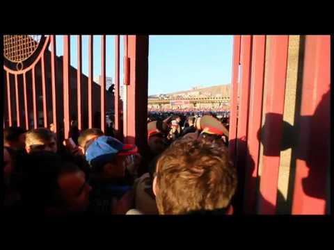 Бардак на стадионе в Ереване