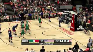 FIBA 2K14 MOD│Mexico vs United States Full Game NBA 2K14 PC MOD