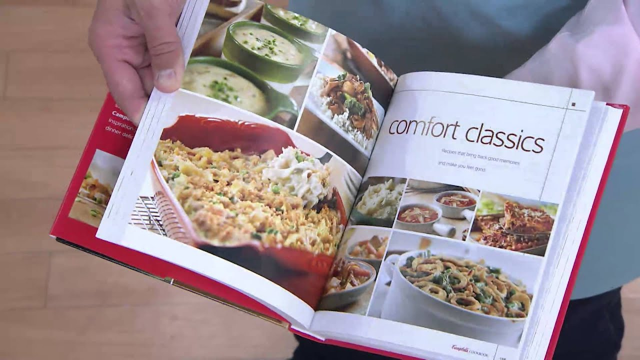 campbell s kitchen cookbook with 300 recipes with david venable