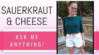 GROCERY SHOPPING LIST [part 2] // all about sauerkraut and cheese! (the #lardbuttchallenge)