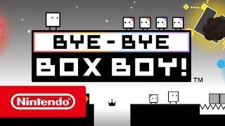 BYE-BYE BOXBOY! – Trailer (Nintendo 3DS)