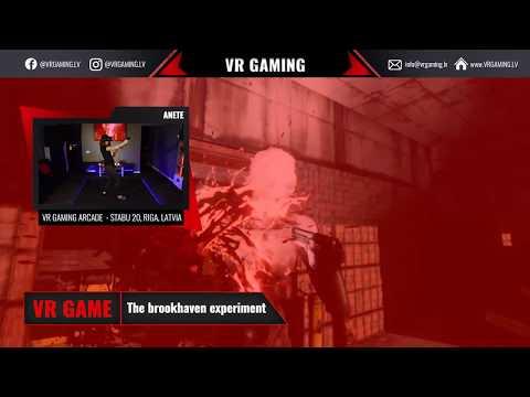 Brookheaven experiment - VR spēles ieskats