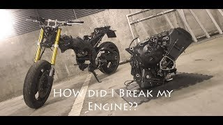 2019 Engine Removal and Disassemble, FZ1 Yamaha Fazer 1000 Blown Engine