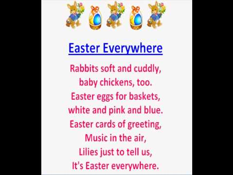 Easter Everywhere (Children's Easter Poems) - YouTube