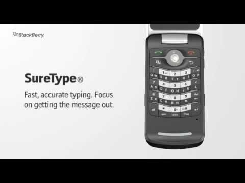 Blackberry Pearl Flip Phone 8220 Australian Promo Video