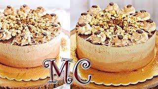 Tort orzechowy z kawą i whisky – Tort ombre - PRZEPIS – Mała Cukierenka