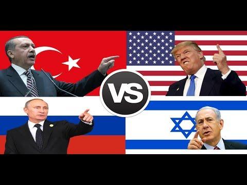 Türkiye, Rusya VS Amerika, İsrail | Sizce Kim Kazanır ?