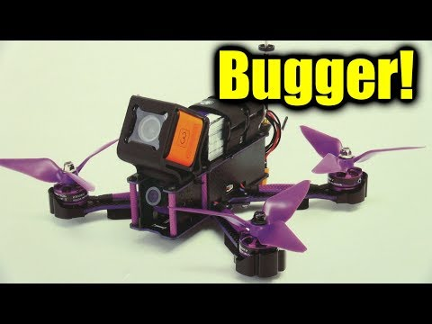 Review: Eachine Wizard X220S (mine is faulty)