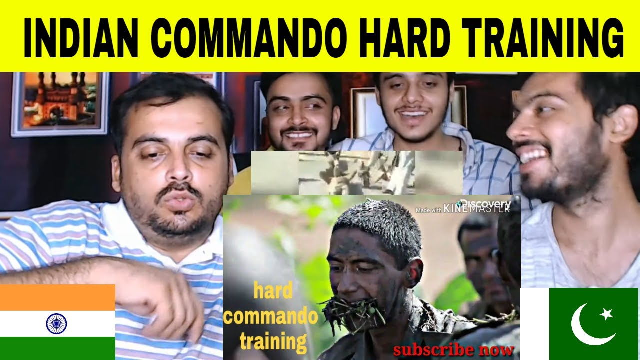Pakistani Reaction on | Indian Army Commando Training HARD Traning