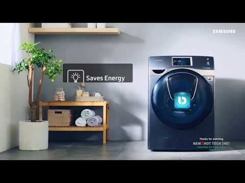 Samsung AddWash | Air Wash | Bubble Soak | Digital Inverter Technology | Smart Control