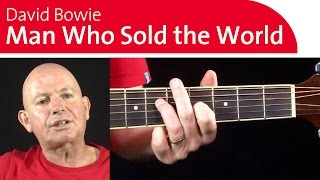 4 Classic David Bowie Guitar Riffs | The Man Who Sold The World