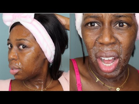 I Used SEAMOSS GEL on my FACE for 5 Days!! WORTH THE HYPE? chilee...