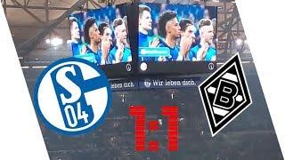 FC Schalke 04  1:1  Borussia Mönchengladbach - Stimmung am 28.04.2018