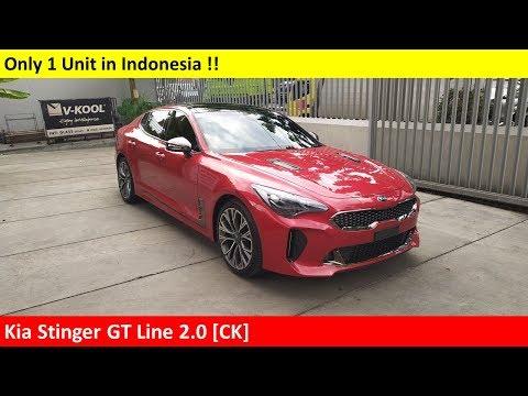 KIA Stinger GT Line 2.0 [CK] review - Indonesia