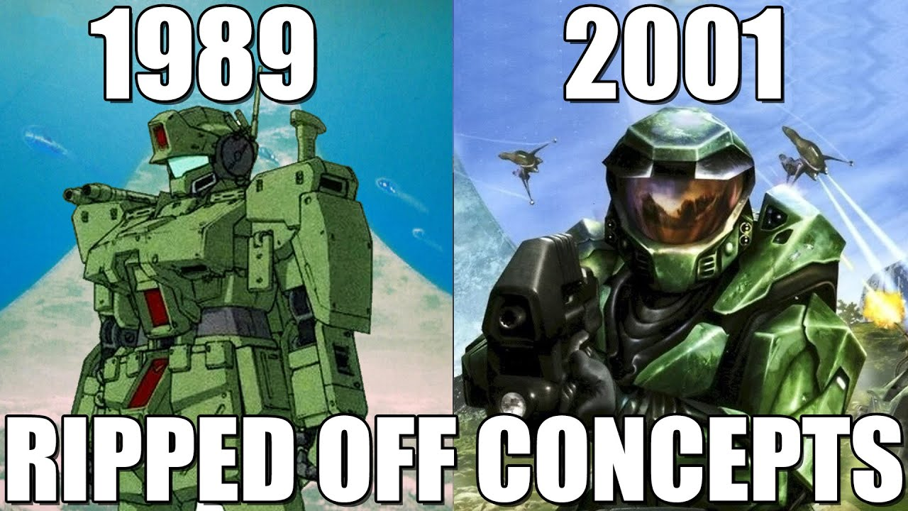 Biggest Halo Concepts and Themes that were Ripped-Off or Copied During Development