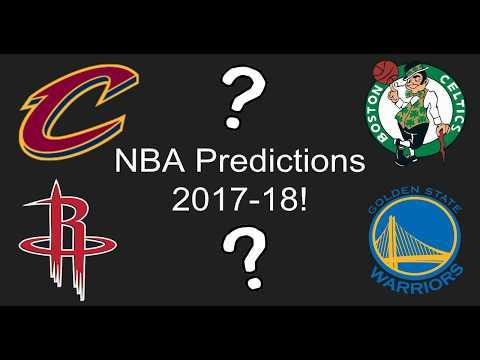 NBA Predictions 2017-18!