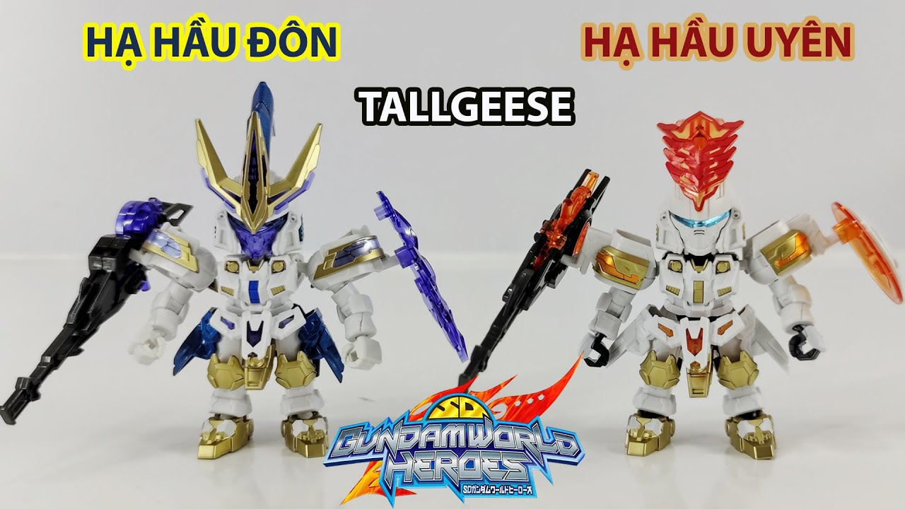 Gundam SD World Heroes Hạ Hầu Đôn + Uyên Tallgeese