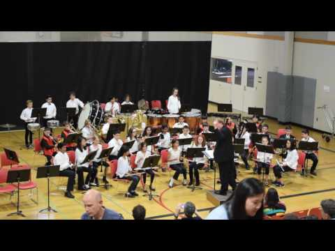 Redmond Middle School - Cadet Band (The Addams Family)