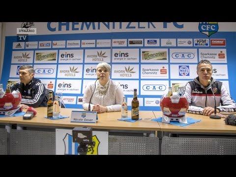 26. Spieltag | CFC - SGD | Pressekonferenz nach dem Spiel