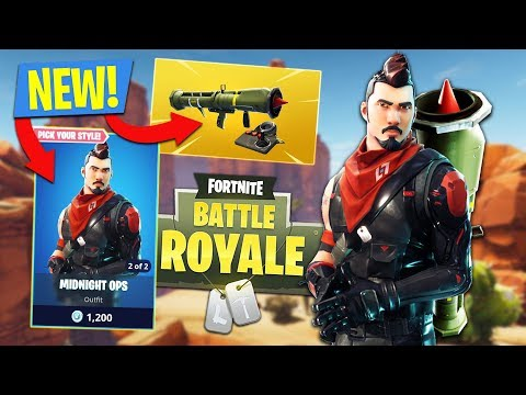 GUIDED MISSILE LAUNCHER GAMEPLAY!! (Fortnite Battle Royale)