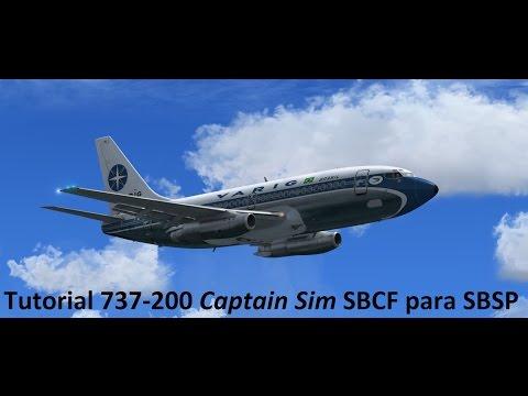 Tutorial Boeing 737-200 Captain Sim SBCF para SBSP