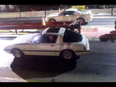Hoonigan Mustang Vs Rx7