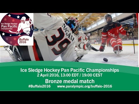Bronze medal game| 2016 Ice Sledge Hockey Pan Pacific Championships, Buffalo