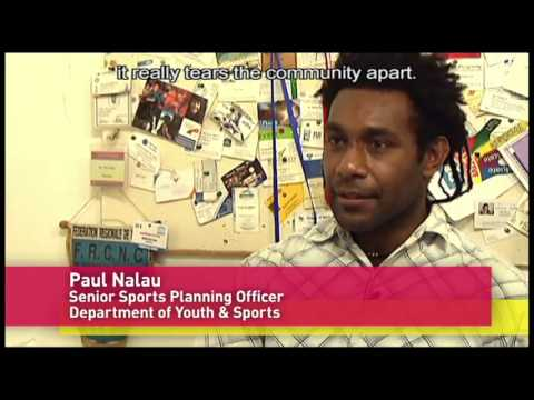 Sport building communities and resolving conflict Australian Sports Outreach Program in Vanuatu