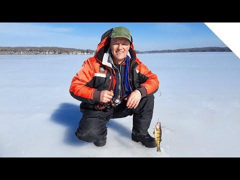 Silver Lake NY - Ice Fishing For Perch