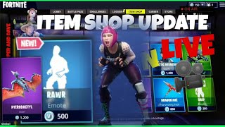 📺MenamesCho's LIVE Ps4 💫 ITEM SHOP 💥 NEW RAWR EMOTE 🦁 Fortnite Battle Royale 20th 21st June