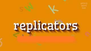 Download lagu How to sayreplicators MP3