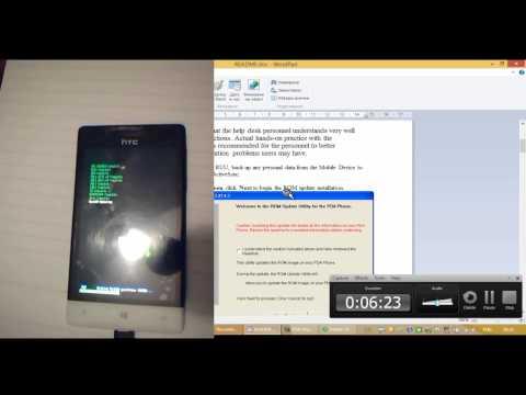 HTC 8S downgrade to 8.0