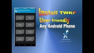 How To Install TWRP (Team Win Recovery Project) on Any Android Mobile Most Easy Way.