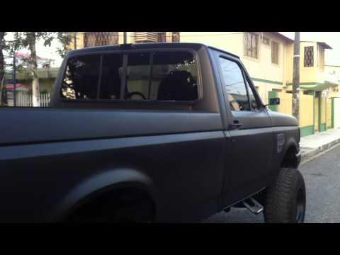 Mean Black Murdered Ford Truck - 88 F250 Custom Restoration
