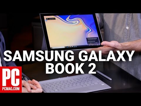 Samsung Galaxy Book 2 (Qualcomm Snapdragon 850) Hands On