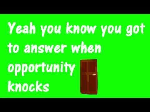Opportunity Knocks by Mouth's Cradle [LYRICS]