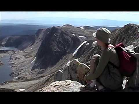 Hiking Medicine Bow Peak Trail Snowy Range, Wyoming 2005