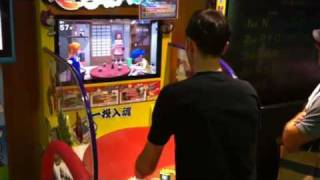 Table-flipping Japanese Arcade Game