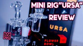 "MJ Arsenal ""Ursa "" Mini Dab Rig Review !! Best Review #Chicago#MJArsenal"