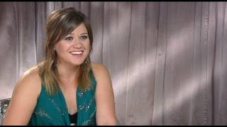 Kelly Clarkson interview on her album Stronger, turning 30 and TV talent shows