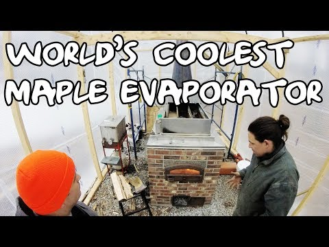 The World's Coolest Maple Syrup Evaporator