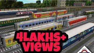 Indian train simulator. game play