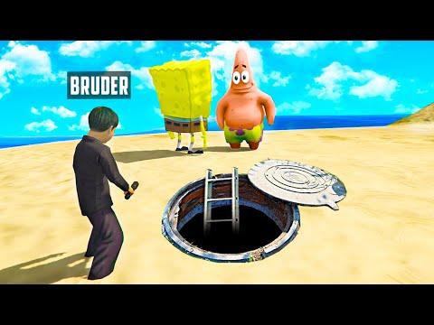 KLEINER BRUDER findet SPONGEBOB BUNKER GTA 5 RP!