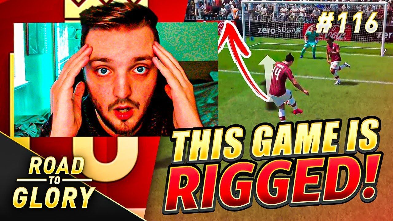 THIS GAME IS RIGGED! FUT CHAMPS ON THE ROAD TO GLORY! FIFA 20 ULTIMATE TEAM #116