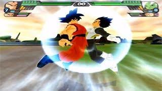 Dragon Ball Z Budokai Tenkaichi 3 - Goku FNF SSG Blue and Vegeta FNF SSG Blue Fusion VS MODS ALEATOR