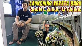 GOKIL !!! KERETA BARU INI LEWAT JALUR YANG 14 TAHUN MATI SURI | Sancaka Utara Surabaya-Yogya